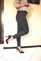Лосины женские спорт 8660 (упаковка 4 шт.) Трикотаж Мех, фото 1