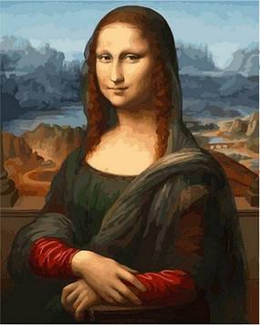 Картина по номерам 40×50 см. Babylon Мона Лиза (Джоконда) Художник Леонардо да Винчи (VP 548)