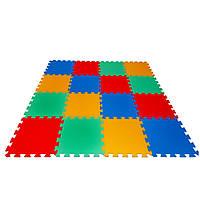 Детский коврик-пазл Maly neposeda 16 элементов 8 мм (8594172230829)