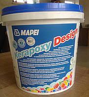 Двухкомпонентная эпоксидная кислотостойкая затирка для швов Kerapoxy Design 3 кг