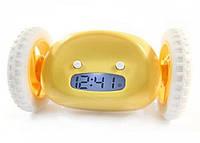 Убегающие часы будильник Alarm Clock на колесиках