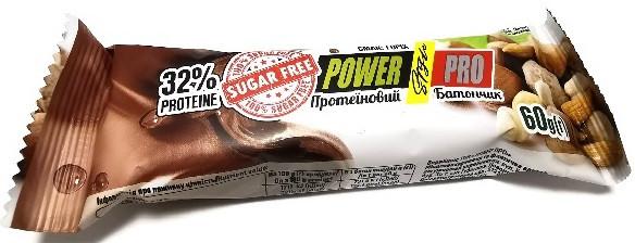 Протеиновый батончик Power Pro - 32% Protein Sugar Free (60 грамм) орех