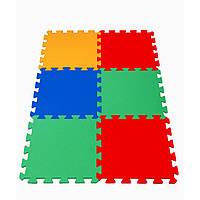 Детский коврик-пазл Maly neposeda 6 элементов 16 мм (8594172231109)