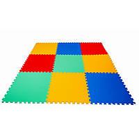 Детский коврик-пазл Maly neposeda 9 больших элементов 16 мм (8594172231031)