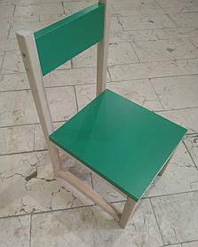 Стільчик дитячий, для дитячого саду (для молодшої, середньої групи), спинка і сидіння з ДСП плити, 181927