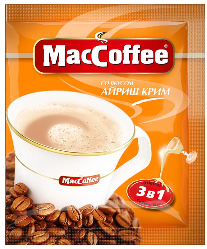 MacCoffee зі смаком Айріш крем 3-в-1 1 пакетик