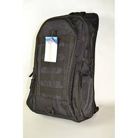 Тактичний рюкзак 20 літрів чорний