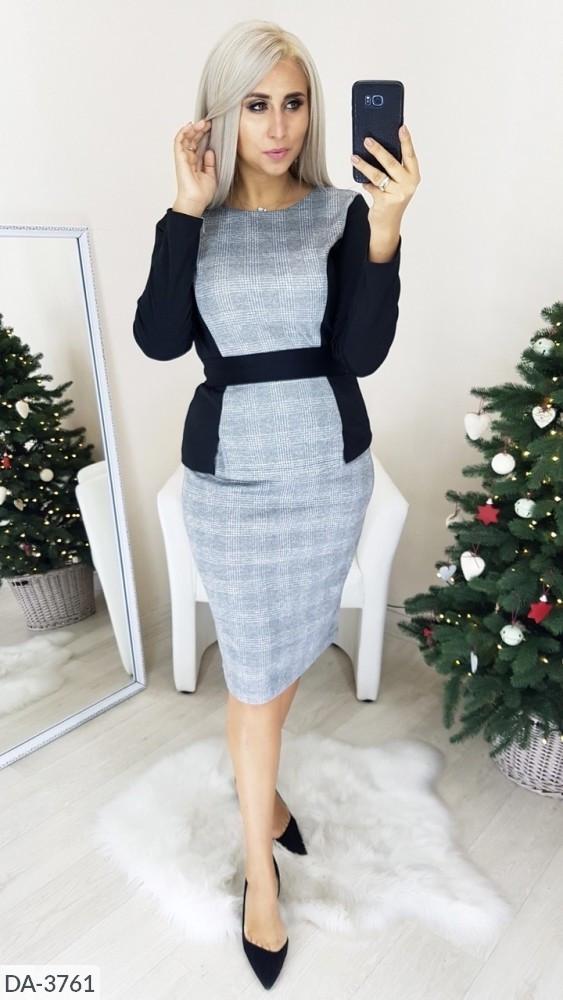 Стильное платье    (размеры 46-56) 0218-08