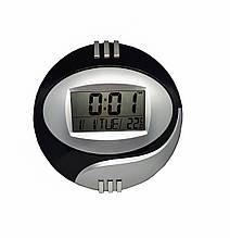 Настенные электронные часы Kadio DS-6870опт Серебристый+черный