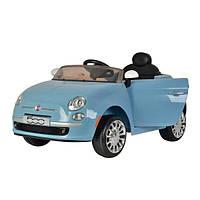 Дитячий електромобіль Fiat Синій