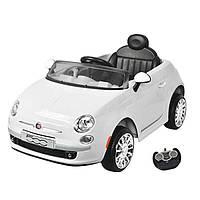 Дитячий електромобіль Fiat Білий