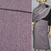 Твид елочка фиолетовый, ш.150 ( 11768.003 )