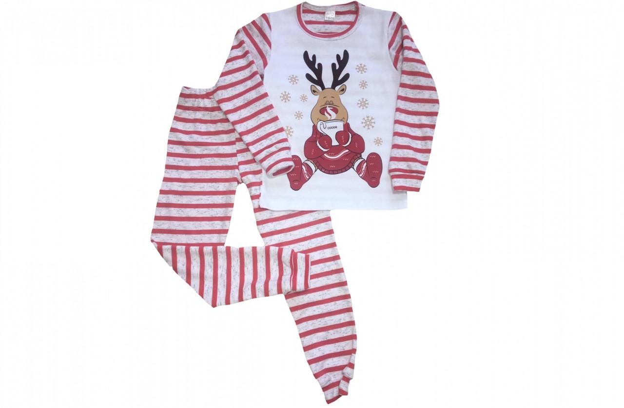 Детская пижама новогодняя