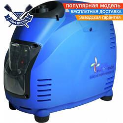 Инверторный генератор D1500i бензиновый 1.5 кВт, 4-х тактный, легкий (вес 16 кг)