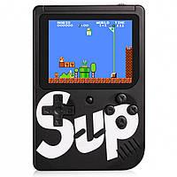 ☄Приставка для игр Game Box sup 400 игр в 1 Black портативная игровая консоль