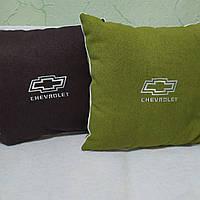 Декоративная подушка chevrolet 40 на 40