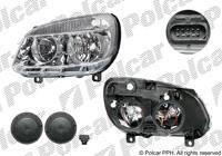 Фара лев Fiat Doblo 05-10