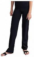 Черные классические трикотажные брюки для танцев для мальчиков. Размеры 100, 110,120, 130, 140,150, 160, 170