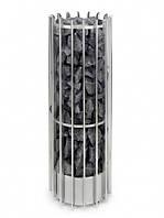 Helo ROCHER 105DE хром - Дизайнерская электрокаменка (10.5 kW, 9-15 м. куб., 100 кг камней)