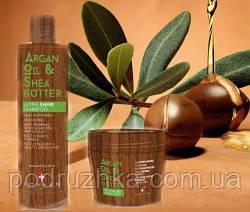 Набор для питания и увлажнения волос с маслами арганы и ши Lovien Essential Ultra shine