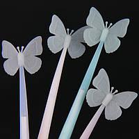 ПРОДАЖА КРАТНО 8 ШТ! Ручка силиконовая БАБОЧКА (масляная) 085-2 (1108)
