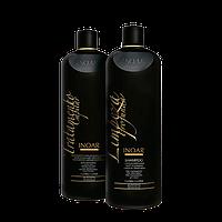 Набор для кератинового выпрямления волос Inoar Moroccan hair keratin , 2х1000 мл