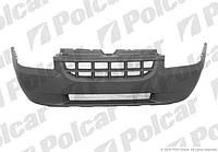 Бампер передний черн (с решеткой) Fiat Doblo 01-05