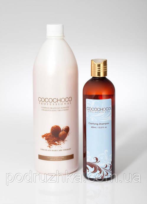 Набор для кератинового выпрямления волос Cocochoco Original, 1000 мл + 400 мл