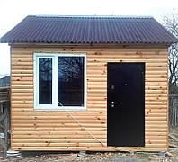 Деревянный мобильный каркасно-щитовой тёплый дачный, садовый дом под ключ недорого