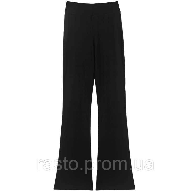 Черные трикотажные брюки для спортивных, бальных танцев,латины, йоги. Размеры на рост от 100 до 170 см - фото 3