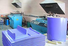 Термо-вакуумная формовка пластика ПС, ПЭТ, акрил