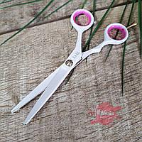 Ножницы для стрижки T&G белые с чехлом