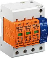 Ограничитель перенапряжения комбинированный V 25-B+C/3+NPE (5094463)