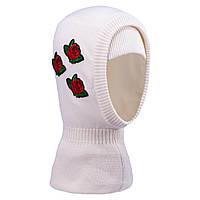 Зимняя шапка-шлем для девочки  TuTu арт. 3-004790 (48-52, 52-56)