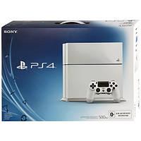 Игровая приставка PlayStation 4 PS4 белая