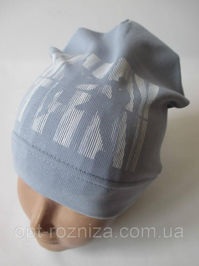 Подростковые шапочки с рисунком на осень.