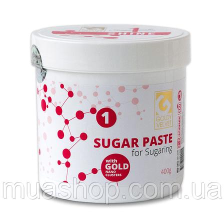 Паста для шугаринга Velvet GOLDY Shine ① 400 грамм, фото 2