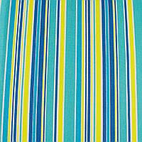 Деко-коттон желто-голубые, сине-белые полоски ш.150 ( 20405.112 )