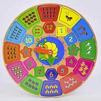 """Деревянная игрушка """"Часы"""", C39468"""