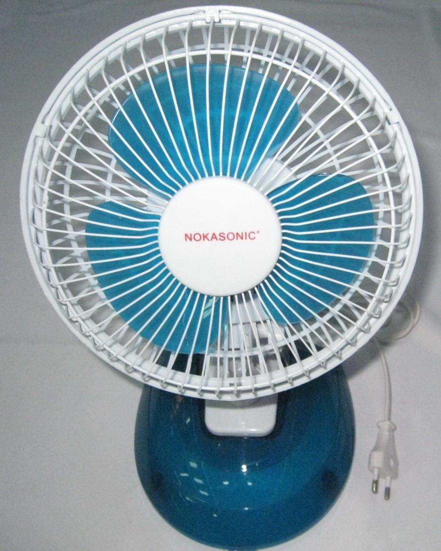 Настольный вентилятор Nokasonik 16W на прищепке