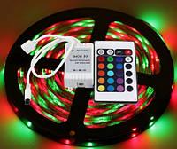 Светодиодная LED Лента 10 м RGB с Пультом и Переходником