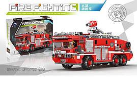 """Конструктор """"Пожарная машина"""", 720 деталей, XB-03030"""