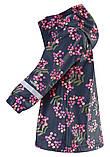 Демисезонная куртка-дождевик для девочки Reima Vatten 521506.9-6981. Размеры 104 - 134., фото 3