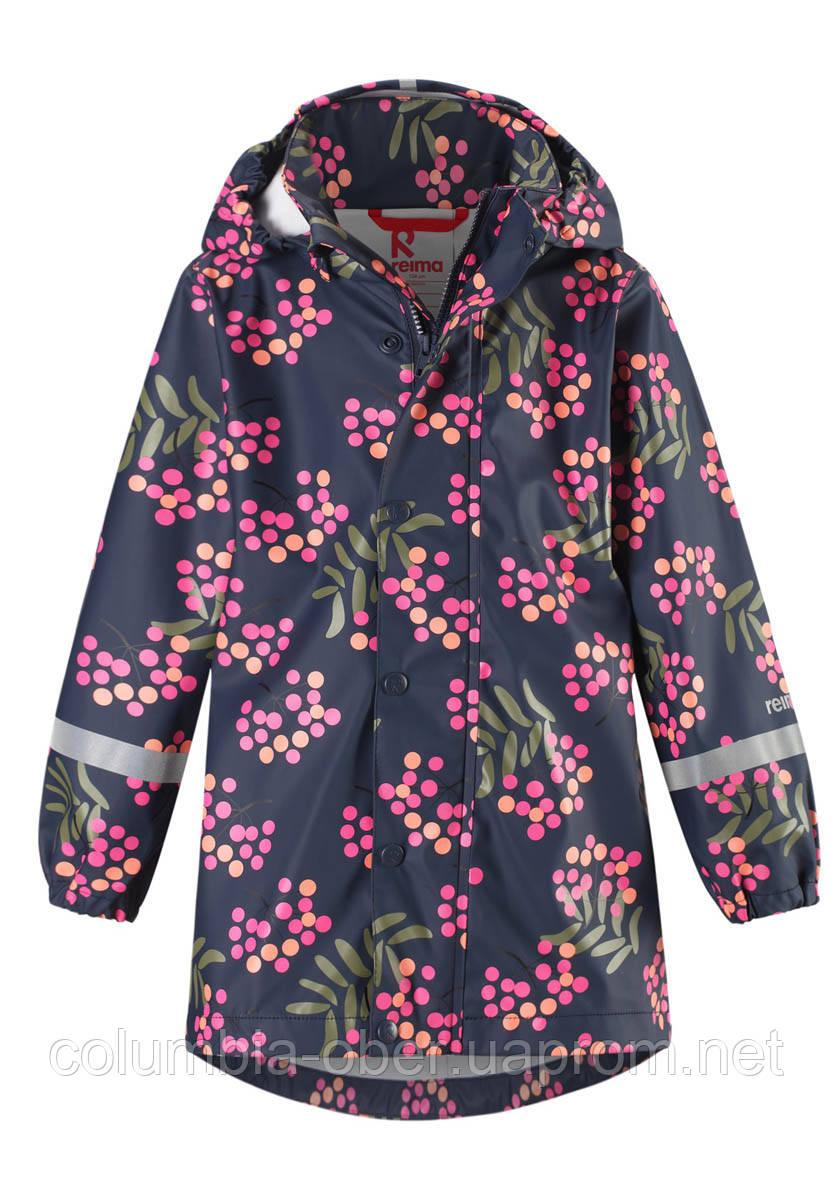Демисезонная куртка-дождевик для девочки Reima Vatten 521506.9-6981. Размеры 104 - 134.