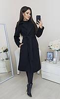 Пальто женское на подкладке батал  ркот166, фото 1