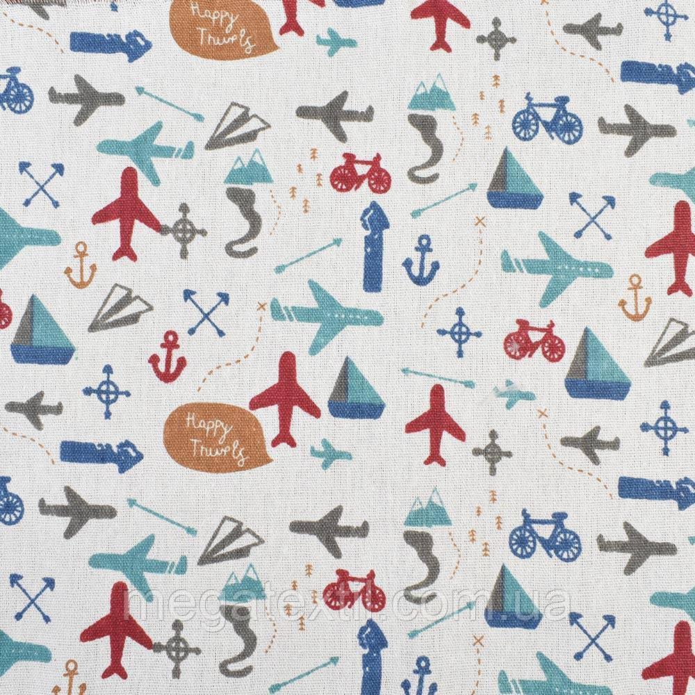 Деко-льон молочний в літаки, велосипеди, ш.150 (20501.056)