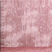 Замша искусственная дымчато-розовая жатая (20601.003)