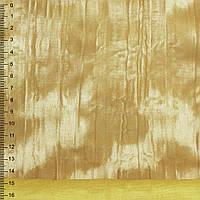 Замша искусственная желтая жатая (20601.006)