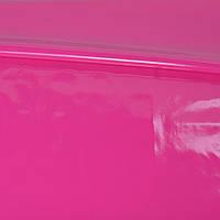 Кожа лаке мягкая тонкая малиновая, ш.140 ( 20816.005 )
