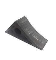 Упор противооткатный БУС (190х100х70) (башмак) Резина 1 шт., фото 1